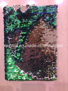 Sequins Hardcover Notebook for Lady Promotional Gift pictures & photos