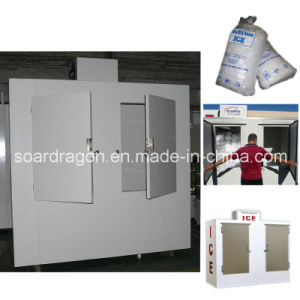 Australian Big Merchandiser Bagged Ice Storage Bin with Freezing Temperature pictures & photos