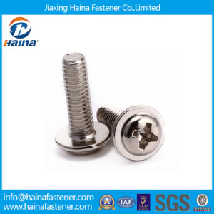 Stock DIN967 Stainless Steel Phillps Pan Head Machine Screws pictures & photos