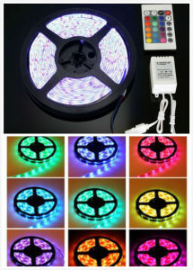 12V SMD5050 Water-Proof RGB Flexible Strip Light pictures & photos