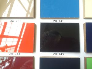 High Glossy Laminated Melamine UV MDF Boards Building Material for Kitchen Cabinets (1220X2440mm) pictures & photos