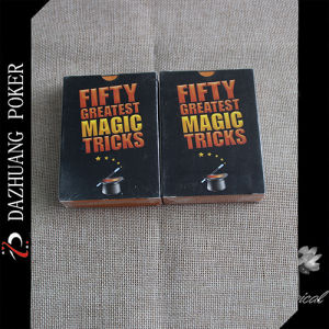 Fifty Greatest Magic Tricks Playing Cards