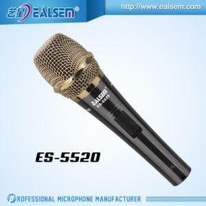 Ealsem Hote Sale High Quality Sound Metal Condenser Microphone for Computer, Studio and Recording