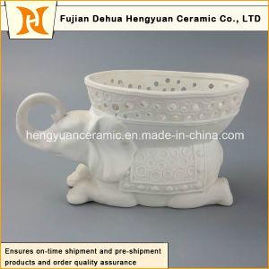 Factory Direct Sale, Ceramic Elephant Shape Flowers Vase (Home Decoration) pictures & photos