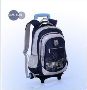 High Quality OEM Kid′s School Bag with a Pull Rod pictures & photos
