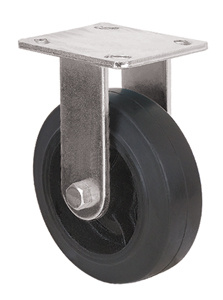 Heavy Duty Caster Series- 5in. Rigid - Rubber Wheel pictures & photos