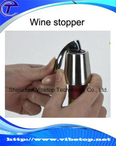 Customized Zinc Alloy Wine/Beer/Champagne Bottle Stopper pictures & photos