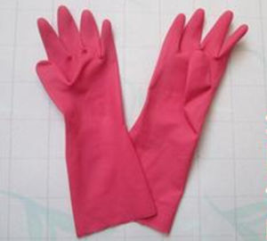 Red Glove /Household Latex Glove /Rubber Glove pictures & photos