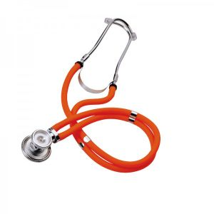 Dual-Head Hospital Stainless Steel Stethoscope (HS-701) pictures & photos