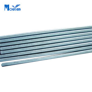 Zinc Plated Carbon Steel DIN975 Threaded Rods