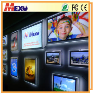 LED Wall-Mounting Advertising Display Light Box (020-1) pictures & photos