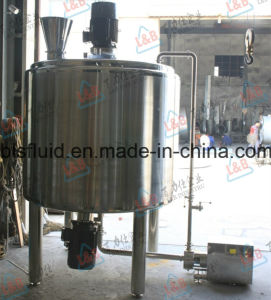 Food Grade Stainless Steel Homogenizer Emulsion Mixing Tank pictures & photos
