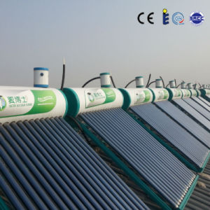 Glass Vacuum Tube Non Pressure Type Solar Water Heater pictures & photos