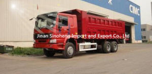 HOWO 6X4 Front Lifting Dump Truck pictures & photos