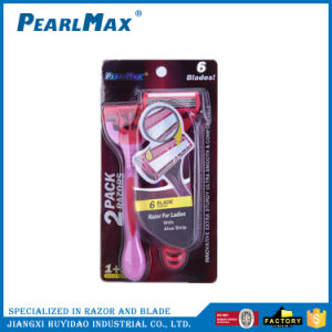 Six Blaed Disposable Razor with Cheap Price pictures & photos