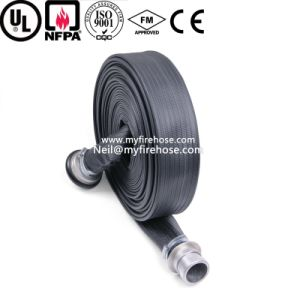 Nitrile Rubber Flexible High Pressure Durable Fire Water Hose Price pictures & photos
