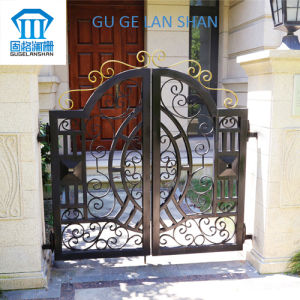 High Quality Crafted Wrought Iron Gate 054 pictures & photos
