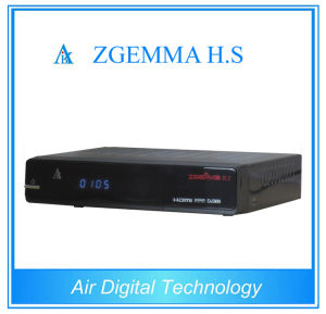Linux 4.01 Dual Core CPU DVB S2/S Digital Satellite TV Front-End Equipment Zgemma H. S Support Paypal pictures & photos