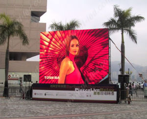 P8.928 Outdoor Rental Full Color LED Display with Board 500X500mm/500X1000mm pictures & photos