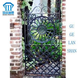 High Quality Crafted Wrought Iron Single Gate 019 pictures & photos
