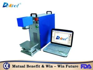 2016 Dek-10W/20W Portable Fiber Laser Marking Machine Price pictures & photos