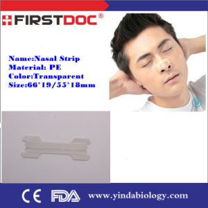 Professinal Manufacturer of Breathe Right Nasal Strip with CE, FDA Approval