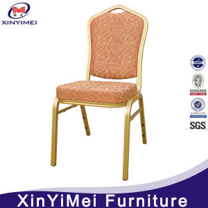 Hot Sale Metal Event Aluminum Wedding Stackable Banquet Chairs in Hotel Furniture pictures & photos