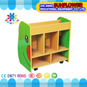 Children Wooden Toy Storage Display Cabinet, Book Rack, Wooden Toy Cupboard, Insect Modeling Toys Rack (XYH12141-2) pictures & photos