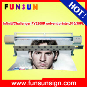 Challenger Infiniti Fy3208r 3.2m Flex Banner Solvent Printer with 720dpi 4 or 8 Heads for Outdoor Printing pictures & photos