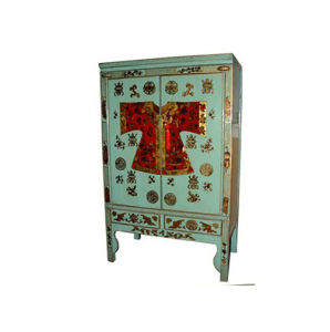 Chinese Painted Wedding Cabinet Lwa415 pictures & photos