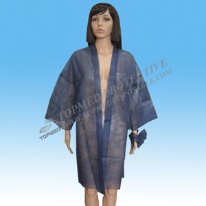 Topmed Nonwoven Kimono with High Quality pictures & photos