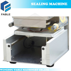 Touch Panel Stainless Steel Bubble Tea Cup Sealing Machine (FB480) pictures & photos