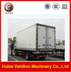 DFAC 4X2 Small Refrigerated Van Truck pictures & photos
