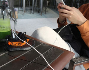 The New Portable 350coconut Shoes Rechargeable Battery & Charger Mobile Power pictures & photos