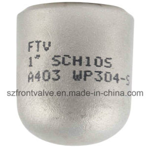 Stainless Steel 304/316 Butt Weld Seamless Cap pictures & photos