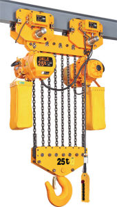 25T Trolley Type Chain Hoist Electrical pictures & photos