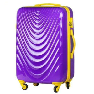 High Quality 100% ABS+PC Trolley Luggage Suitcase pictures & photos
