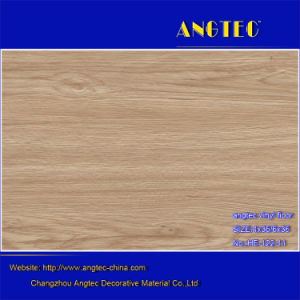 Waterproof Durable Healthy 4mm Interlock Click Lvt PVC Vinyl Floor pictures & photos