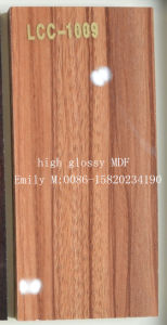 Kitchen Cabinet Door From Wooden Glossy MDF (LCC-1009) pictures & photos