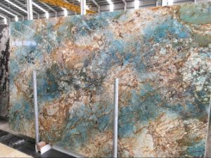 Brazil Fantasie Blue Marble Big Slabs pictures & photos