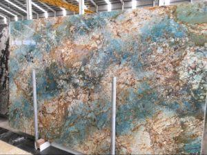 Brazil Fantasie Blue Marble Big Slabs pictures & photos