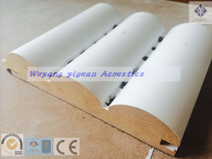 Cylinder Wooden Acoustic Diffuser Panel (CMPF25mm) pictures & photos