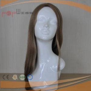 100% Top Quality High End Silk Top Technique Quality Loose Wavy Women Wig (PPG-c-0094) pictures & photos