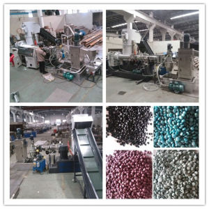 Plastic Shoping Bag Recycling and Granulating Machine pictures & photos