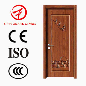 China Manufacturer PVC Wooden Door pictures & photos