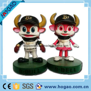 OEM Resin Cattle Mascot Bobble Head (HG50) pictures & photos