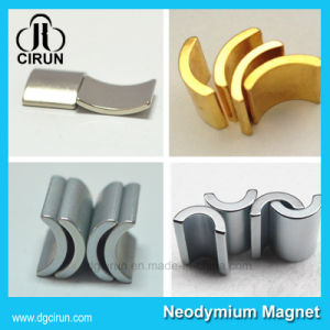 Customized Permanent Arc Shape Neodymium Motor Magnet pictures & photos