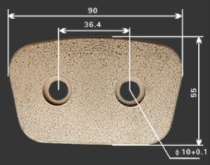 Best Quality Copper Sintered Clutch Button pictures & photos