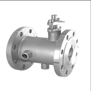 Jacket Flanged Handle Ball Valve