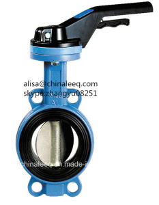 Dn40-Dn600 Wafer Type Butterfly Valve with Pin